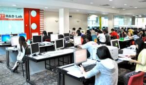Computer lab at UCSI University