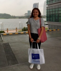 EduSpiral took us for a tour around the campus as well as the hostel at Cyberjaya. They provided in-depth information about Heriot-Watt University Malaysia and facts on why the university is my best choice. Weng Hang, Actuarial Science at Heriot-Watt University Malaysia