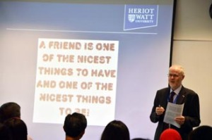 Students at Heriot-Watt University Malaysia learn from the best lecturers