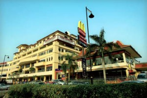 KBU International College is located just across the road from Centrepoint where the hostel is located as well