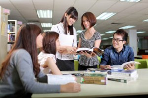 A conducive environment for study at First City University College's library