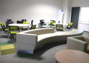 There are many study lounges in Heriot-Watt University Malaysia for students to use in their pursuit of educational excellence