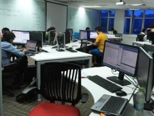 Computer lab at HELP University
