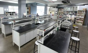 Microbiology lab at UCSI University