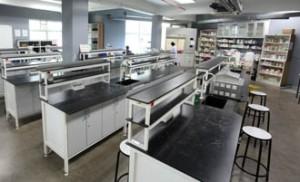 Microbiology lab at UCSI University