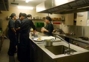 Culinary Students are taught by experienced chefs at YTL International College of Hotel Management