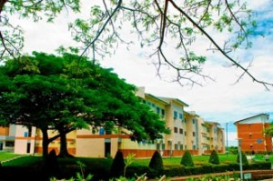 Curtin University Sarawak on campus student accommodation