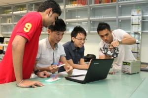 Electronics Lab at KDU College Penang