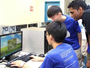 KDU Penang University College Game Design Students at work