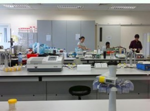 Nilai University biotech lab