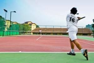 Nilai University Tennis Court