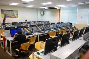 Computer lab at KDU Penang University College