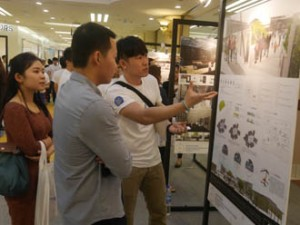 First City University College Interior Design Students' Graduation Showcase at One Utama Shopping Mall