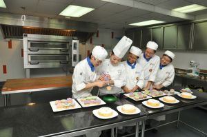 BERJAYA University College of Hospitality patisserie kitchen