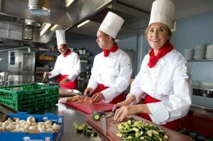 Excellent Culinary Arts facilities at the IMI International Management Institute in Switzerland