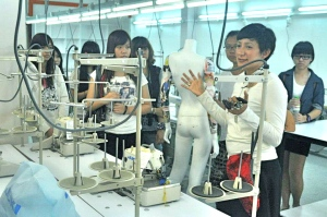 Fashion Design studio at Saito College