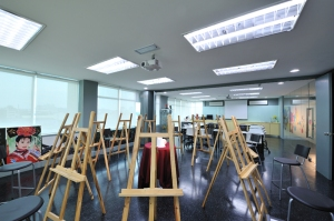 Drawing studio at IACT College