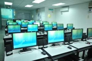 Computer lab at IACT College