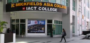 IACT College is located at its new campus in Petaling Jaya near the Asia Jaya LRT Station