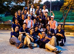 Taylor's University winning TRT at the FSAE-ASEAN Race