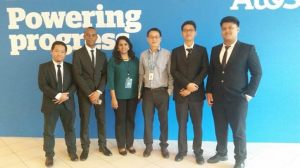 Asia Pacific University (APU) students, Muhammad Alkautsar Sanusi, Abdulhamid Ahmed Ali, Gamma Rizkinata Satriana and Syahmi bin Suleiman, has been chosen as one of the 3 worldwide finalists of the Atos IT Challenge 2016