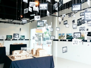 Exhibition by the architecture students at Taylor's University