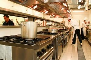 Training kitchen at Taylor's University
