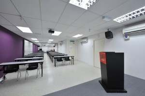 Classroom at IACT College