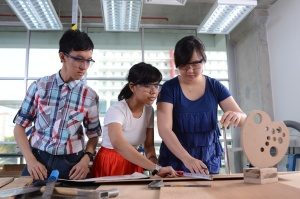 Design students at Taylor's University