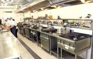 Training Kitchen at Taylor's University