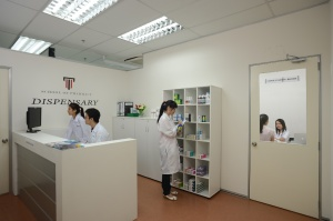 Pharmacy facilities at Taylor's University