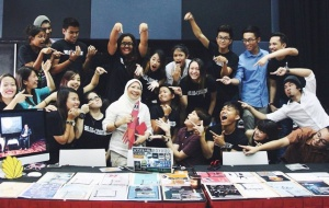 Mass Communication students at Taylor's University