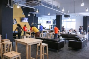 Student Lounge at IACT College