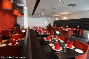 Tangerine fine dining restaurant at Taylor's University