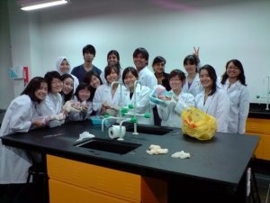 Science lab at Taylor's College Sri Hartamas