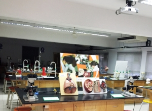 Biology lab at Taylor's College Subang Jaya Campus