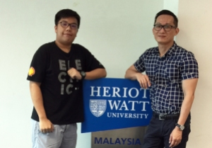 My friend introduced me to EduSpiral. He gave me all the information on WhatsApp & helped me to apply. Chong Keat, Electrical & Electronic Engineering at Heriot-Watt University Malaysia