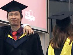"""""""EduSpiral helped me to transfer my Diploma &  everything went smoothly. I also asked him to help my younger brother to find the the right university after his UEC"""".  Haw Chieh, Graduated in Accounting from UCSI University"""