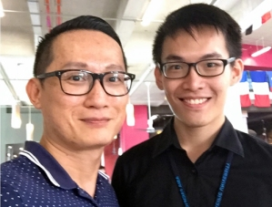 """""""I met up with EduSpiral about 4 times in Ipoh & at Asia Pacific University to discuss about my future. He provided me with in-depth information and even arranged for me to meet up with the Head of School at APU to talk to me."""" Kar Jun, Accounting graduate from Asia Pacific University"""